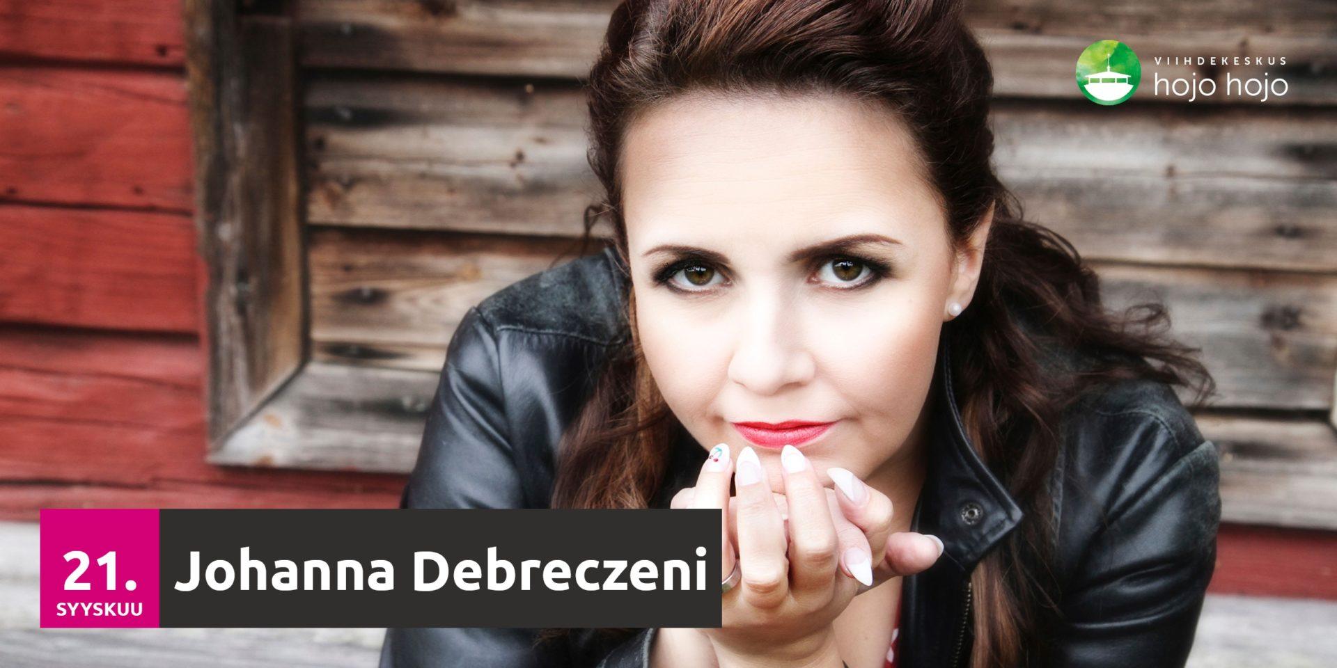Read more about the article Lauantaina 21.9.2019 Johanna Debreczeni