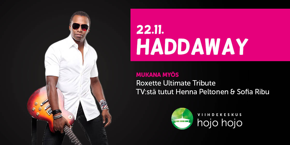 Read more about the article Perjantaina 22.11. Haddaway