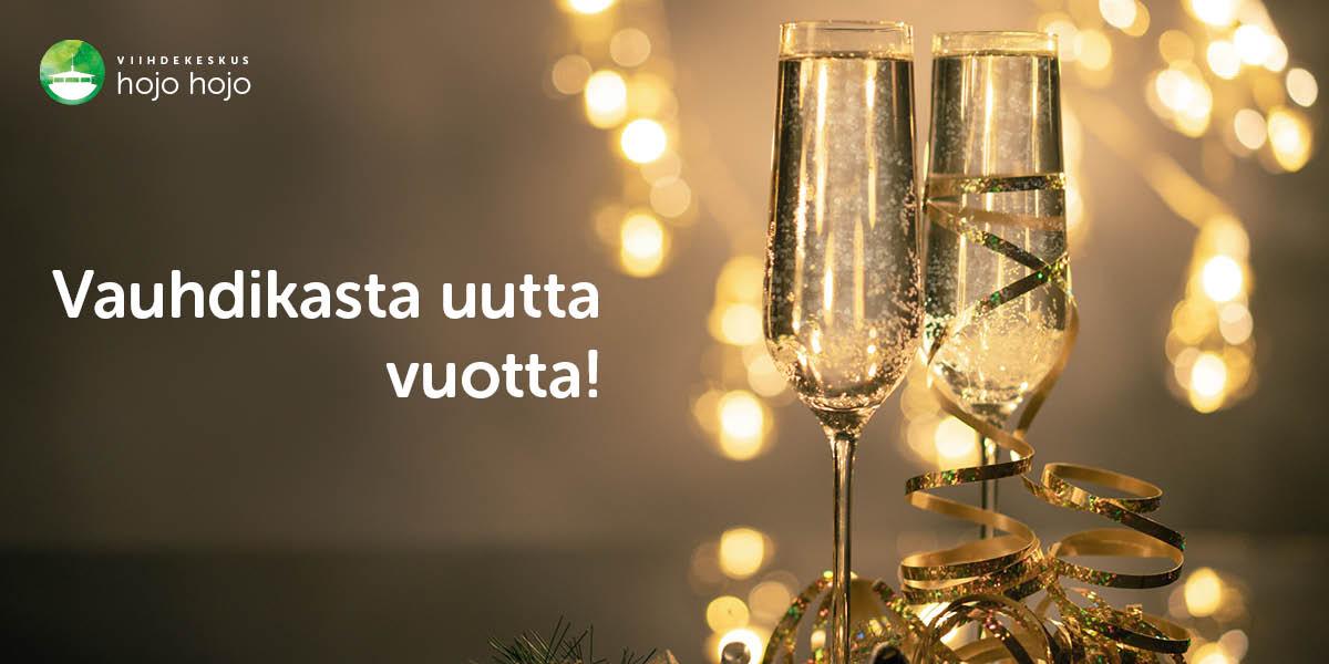 Read more about the article Hyvää joulua ja vauhdikasta uutta vuotta!