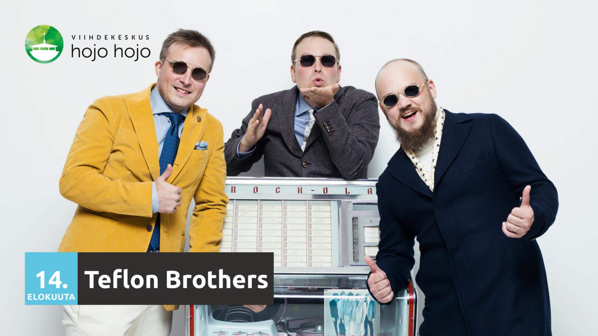 Read more about the article Perjantaina Teflon Brothers