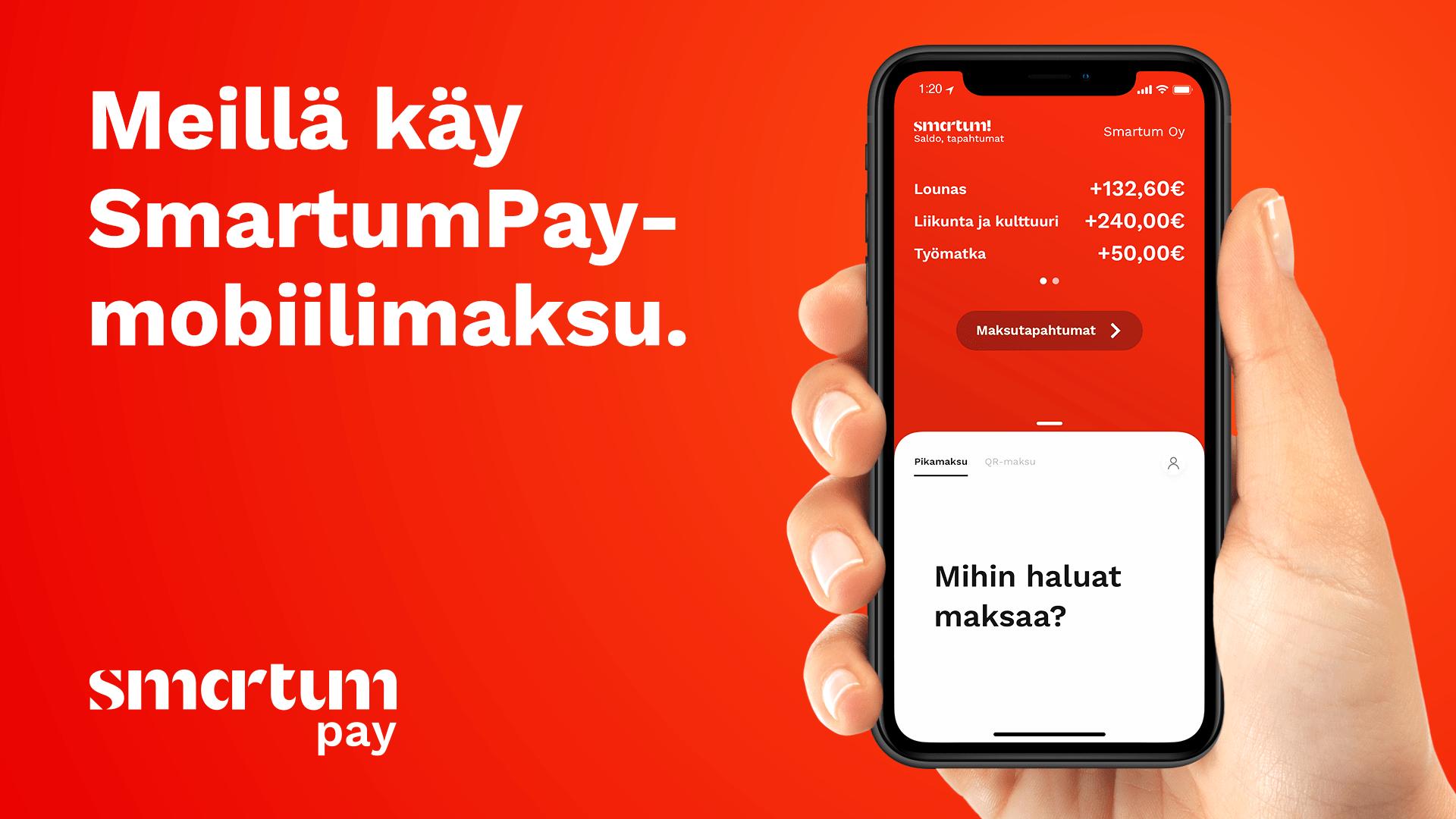 Read more about the article Smartum maksutavaksi verkkokauppaan